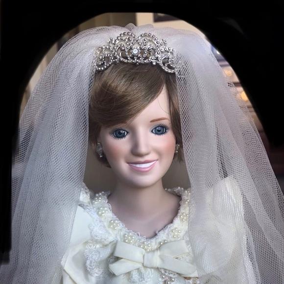 Danbury Mint Other Princess Diana Wedding Doll Poshmark